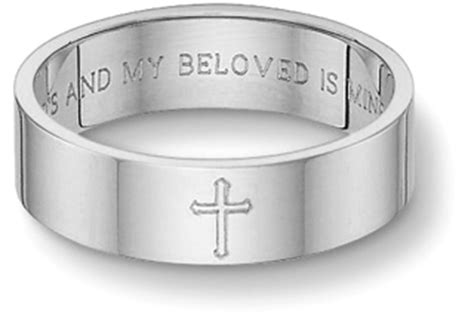 Bible Verses Engraved Wedding Band by Unique Gold Wedding Bands For Applesofgold