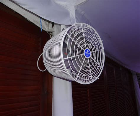 gazebo fan with hook tent fan 12 quot available with misting ring in fans