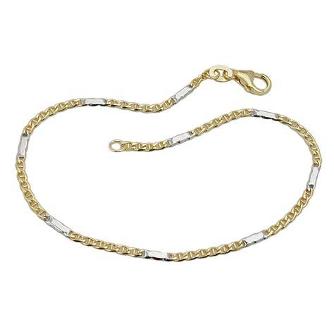 Hochzeit Armband G Ste 1 9mm stegpanzer armband armkette armschmuck 375 gold