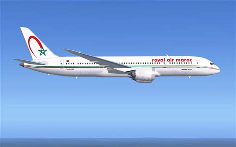 ram airlines royal air maroc boeing 787 8 for fsx