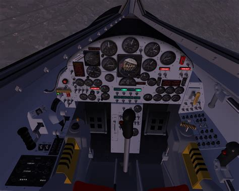 Massimo Altieri - FSX aircraft - X15 X 15 Cockpit