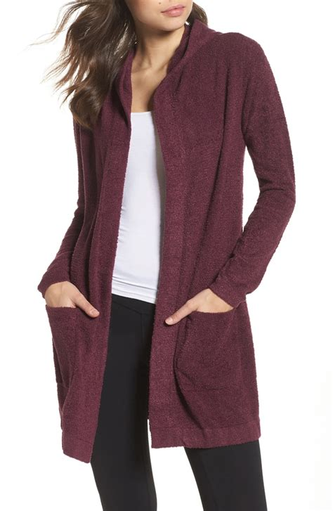 Hooded Cardigan barefoot dreams 174 cozychic lite 174 coastal hooded cardigan