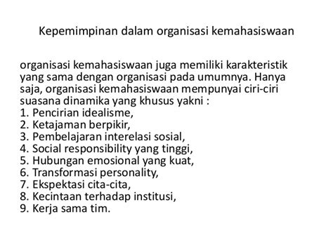 Organisasi Dan Kepemimpinan Modern Graha Ilmu 1 kepemimpinan mahasiswa