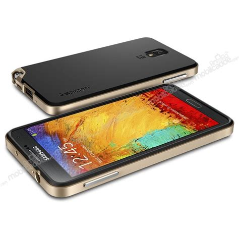 Spigen Samsung Galaxy Note 3 N9000 spigen neo hybrid samsung n9000 galaxy note 3 gold k箟l箟f