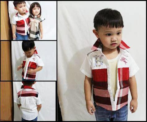 Kemeja Batik Anak 6 8 Th Katun Aamir Kinsler Terlaris Dan Original jual baju anak umur setahun 1 th pakaian anak balita satu tahun 1 thn perempuan
