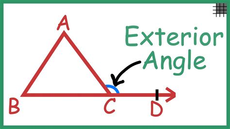interior its what is the relation of an exterior angle of a triangle