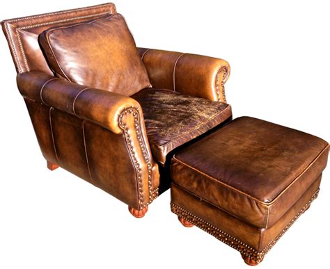 leather club chair ottoman vintage leather chair and ottoman best home design 2018