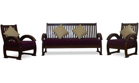 Modern Teak Wood Sofa Set Furnitureteams.com