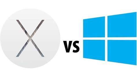 vs x os x yosemite vs windows 10 compared review macworld uk