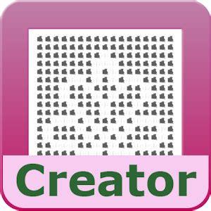 crochet pattern design software free filet crochet pattern creator android apps on google play