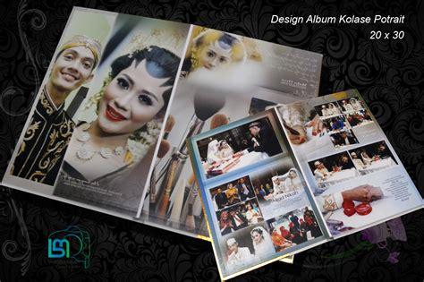 contoh desain foto wedding contoh album kolase desain berkah mulya foto