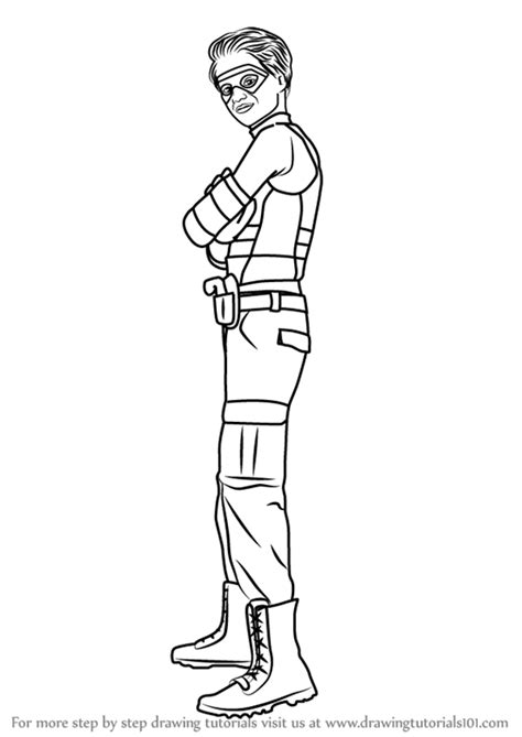 henry danger sketch coloring page step by step how to draw henry hart from henry danger