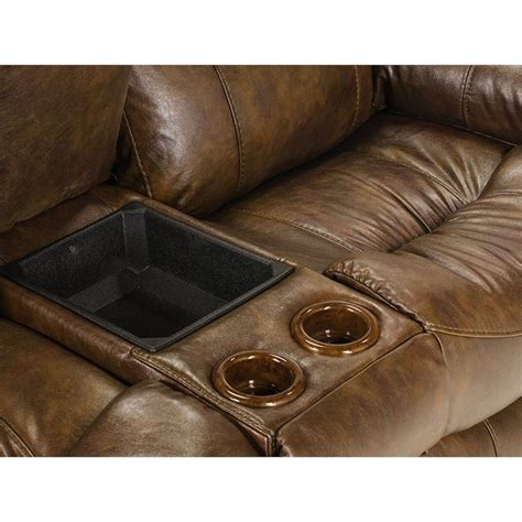 catnapper leather reclining loveseat catnapper leather power reclining console