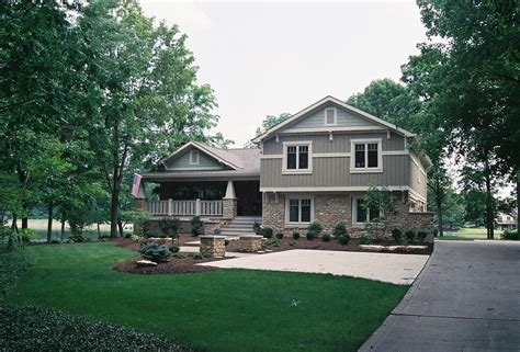 Front To Back Split House Split Level House Plans With Porches