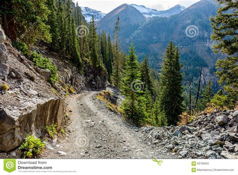 rugged mountain rugged high mountain road stock photo image 62183522