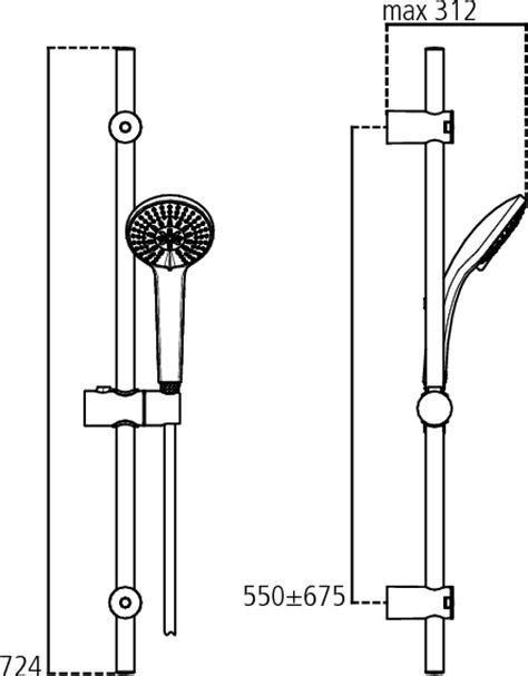 asta doccia ideal standard dettagli prodotto b9508 asta doccia m3 smart