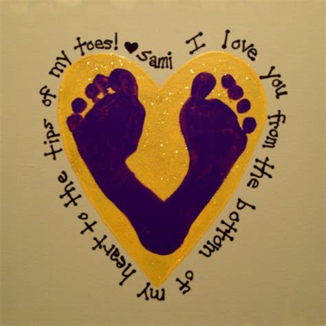and footprint crafts baby footprints arts and crafts some wonderful ideas for