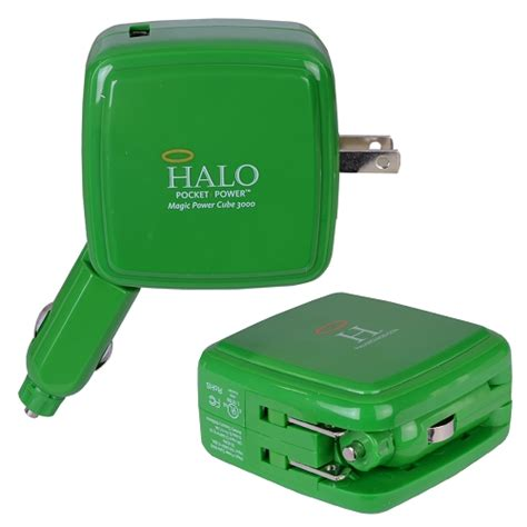 Advance Power Cube Charger Smartphone Charger Hp Charger Handphone 3 halo magic power cube 3000mah high capacity electronics wall car charger ebay