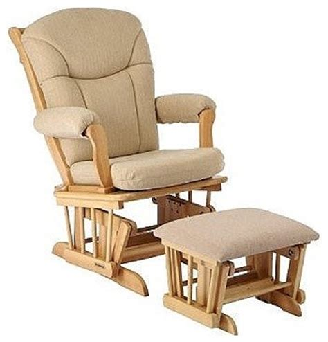 rocker glider chairs with ottoman shermag 37794cb glider rocker ottoman natural