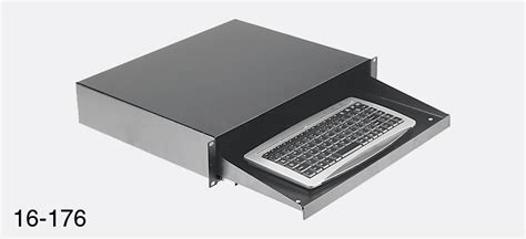 cp sliding rack shelf keyboard tray