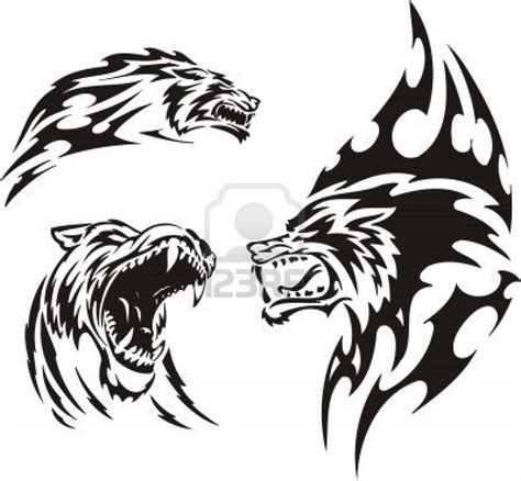 tribal leopard tattoo designs tribal animal tattoos designs