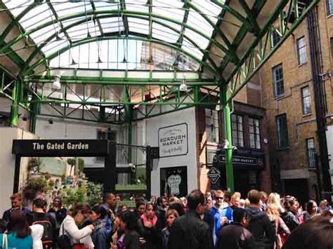 London Biting Off A Piece Of Borough Market Italian Kiwi