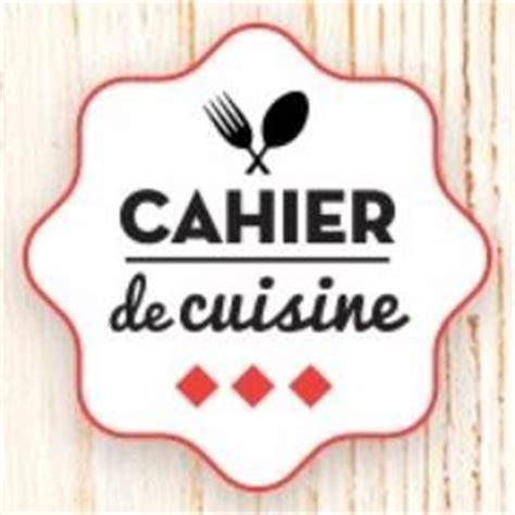 cahier recette cuisine cahier de cuisine cahierdecuisine