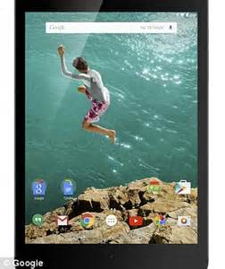 google nexus 6 phone and nexus 9 tablet powered by android