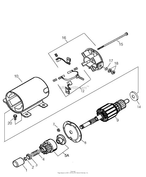 tecumseh es12 1 35763a parts diagram for electric starter