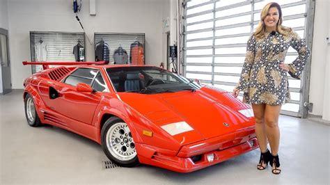 Hotwheels Lamborghini Countach 25th Anniversary an overview of the legendary 1989 lamborghini countach