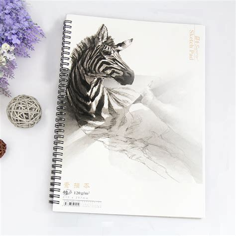 Jual Buku Sketsa A3 professional sketch book color pencil painting paper