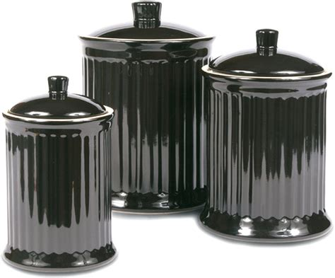 canisters amazing black canisters for kitchen black