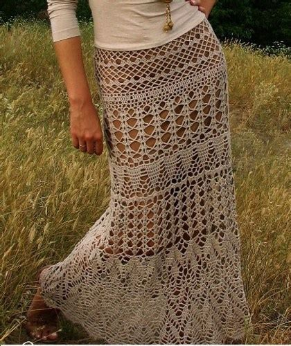 crochet maxi skirt pattern diagrams pdf marifu6a on artfire