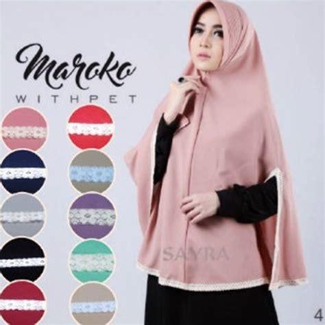 Jilbab Instan 2016 jilbab instan maroko withpet model terbaru bundaku net