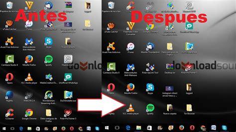 reducir imagenes para windows 10 como cambiar el tama 241 o de los icono de la barra de tareas