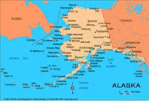 us map where is alaska alaska map