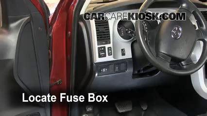 interior fuse box location: 2007 2013 toyota tundra 2007