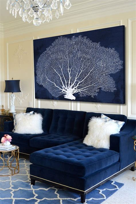 blue sofa living room 25 stunning living rooms with blue velvet sofas for the