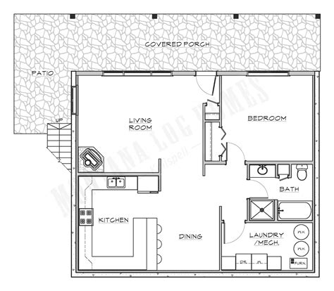 montana log homes floor plans mlh 015 montana log homes
