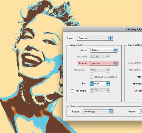tutorial illustrator live trace illustrator quick tip how to create pop art using live trace