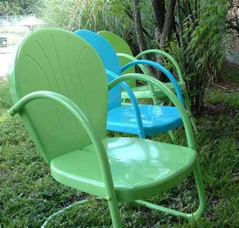 Cool Patio Chairs Best 25 Vintage Metal Chairs Ideas On Pinterest Metal Chairs Metal Lawn Chairs And
