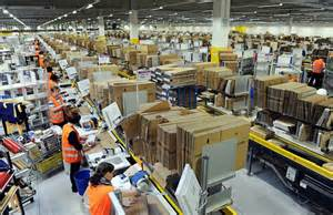 my two months of seasonal work at an fulfillment center