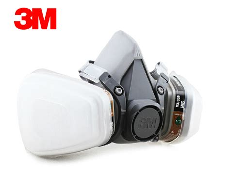 Masker Respirator 3m 6200 7 In 1 3m 6200 6001 reusable half mask respirator 3m vapor cartridge cartridge 6001 respiratory