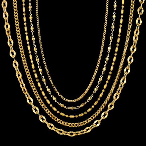 57 types of gold chains for women mens gold chain styles