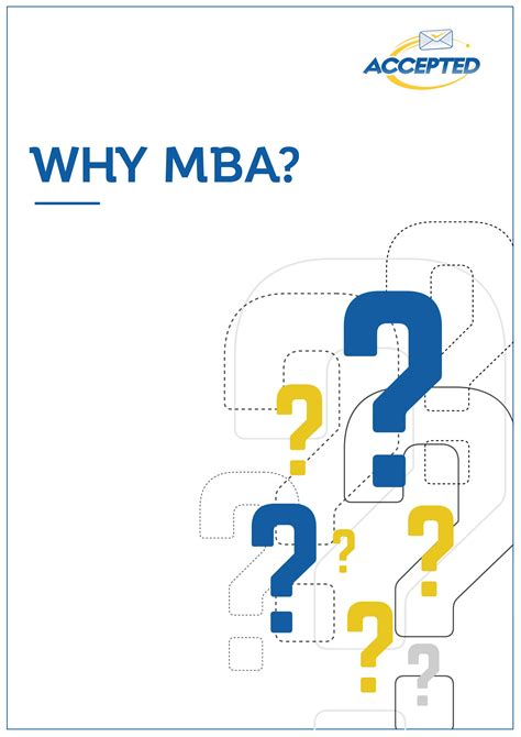 Mba Why Do It by Why Mba