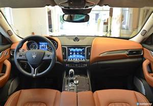 Interior Of Maserati Maserati Levante Interior Image 14