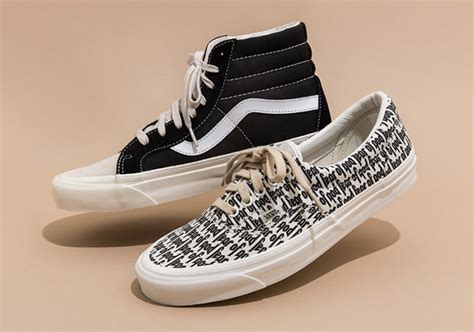 Sepatu Vans Fear Of God fear of god vans collaboration available at pacsun