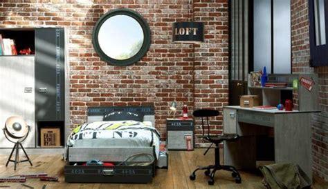 chambre industriel deco deco chambre ado style industriel visuel 5