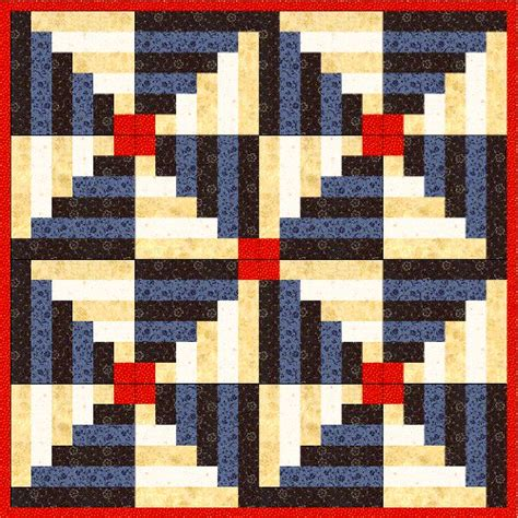 Log Cabin Quilt Pattern Free With free log cabin quilt pattern archives fabricmomfabricmom