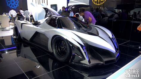 5 000hp Devel Sixteen Crazy V16 Hypercar With 560km H